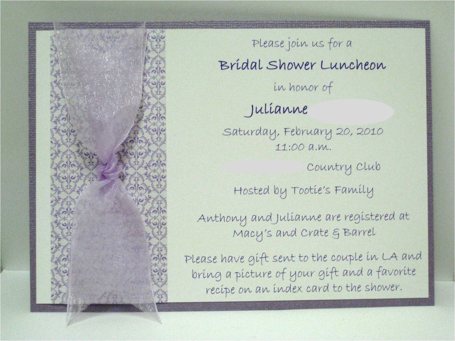301 moved permanently for Elegant bridal shower invitations